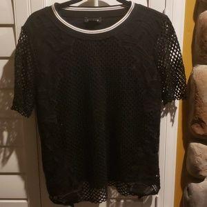 Trouve mesh blouse